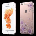 Průhledné pouzdro iPhone 6 - Květy 05