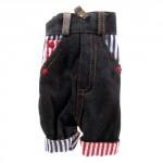 Kabelka na mobil - Kalhoty 02 - černé