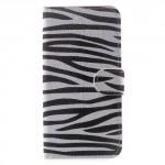 Koženkové pouzdro Zenfone Go ZB500KL - Zebra