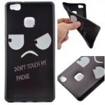 Pouzdro / Obal Huawei P9 Lite - Don't touch my phone 02