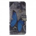 Koženkové pouzdro Honor 9 - Motýl 01