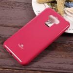 """Pouzdro Jelly Case Asus Zenfone 3 Max ZC553KL (5.5"""") - tmavě růžové lesklé třpytivé"""
