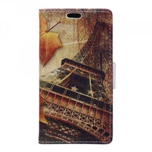 """Koženkové pouzdro Zenfone 3 Max ZC553KL (5.5"""") - Eiffelovka"""