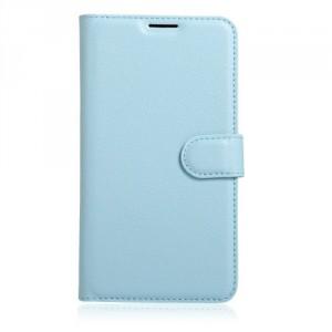 "Koženkové pouzdro Zenfone 3 Max ZC553KL (5.5"") - modré"