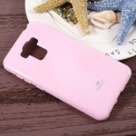 """Pouzdro Jelly Case Asus Zenfone 3 Max ZC553KL (5.5"""") - světle růžové lesklé třpytivé"""