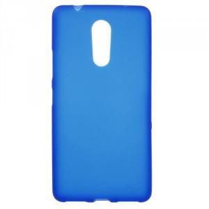 Matné pouzdro Lenovo K6 Note - modré