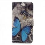 Koženkové pouzdro Honor 6A - Motýl 03