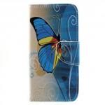 Koženkové pouzdro Honor 6A - Motýl 04