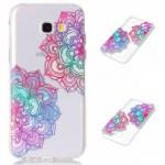 Pouzdro / Obal Galaxy A5 (2017) - Průhledné s květy 02
