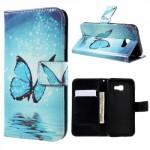 Koženkové pouzdro Galaxy A5 (2017) - Motýli