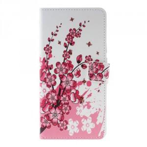 Tenké pouzdro Huawei Y7 Prime - Květy 01