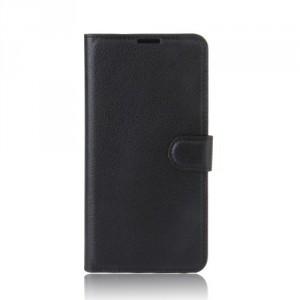 Koženkové pouzdro Lenovo K6 Note - černé 02