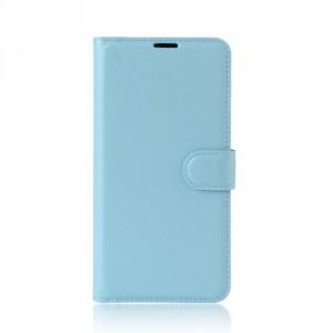 Koženkové pouzdro Lenovo K6 Note - modré 02