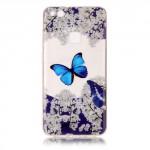 Pouzdro / Obal Huawei P10 Lite - průhledné - motýli 01