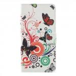 Tenké pouzdro Huawei Y7 - Motýli 01
