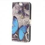 Koženkové pouzdro Xperia XA1 - Motýl