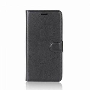 Koženkové pouzdro LG Q6 - Černé