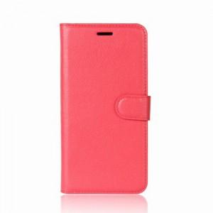 Koženkové pouzdro LG Q6 - Červené