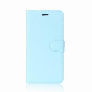 Koženkové pouzdro LG Q6 - Modré