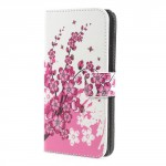 Koženkové pouzdro Xperia XA1 - Květy