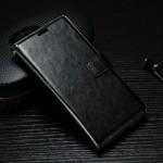 Koženkové pouzdro Xperia XA1 - Černé