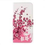 Koženkové pouzdro Nokia 3 - Květy 02