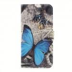 Koženkové pouzdro Nokia 3 - Motýl 01