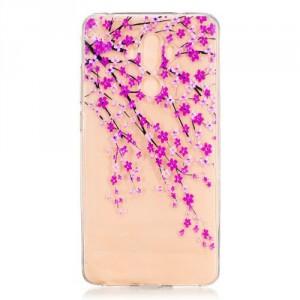 Pouzdro / Obal Huawei Mate 9 - průhledné - Květy