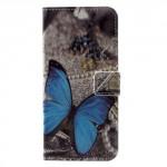 Koženkové pouzdro Nokia 5 - Motýl 02