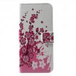 Koženkové pouzdro Nokia 5 - Květy 02