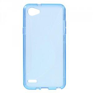 Pouzdro S-Curve LG Q6 - modré