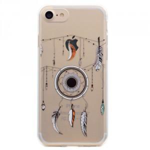 Pouzdro iPhone SE (2020), iPhone 7 , iPhone 8 - průhledné - Lapač snů 02