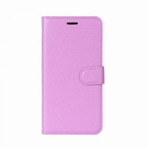 Koženkové pouzdro Zenfone 4 Max ZC554KL - fialové