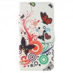 Koženkové pouzdro Zenfone 4 Max ZC554KL - Motýli 02