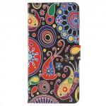 Koženkové pouzdro Zenfone 4 Max ZC554KL - Květy 01