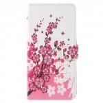 Koženkové pouzdro Zenfone 4 Max ZC554KL - Květy 02