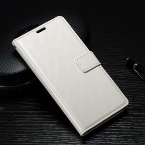Koženkové pouzdro Xperia XA1 - Bílé