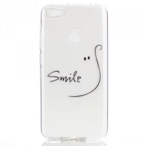 Pouzdro Xiaomi Redmi Note 5A Prime - průhledné - Smile