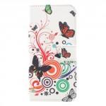 Pouzdro Xiaomi Redmi 4X - Motýli 03
