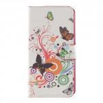 Koženkové pouzdro Doogee Y6 - Motýli 01