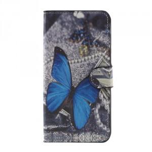 Koženkové pouzdro Doogee Y6 - Motýl 03