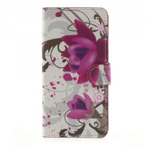 Koženkové pouzdro Doogee Y6 - Květy 03