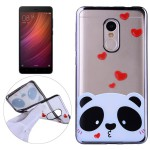 Pouzdro Xiaomi Redmi Note 4 - průhledné - panda