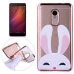 Pouzdro Xiaomi Redmi Note 4 - průhledné - králík