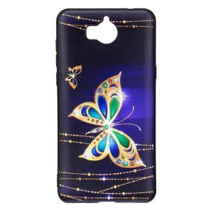Pouzdro Huawei Y6 2017 - Motýli 01