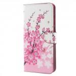 Koženkové pouzdro Huawei Mate 10 Lite - Květy 01