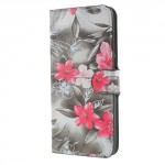 Koženkové pouzdro Huawei Mate 10 Lite - Květy 02