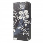 Koženkové pouzdro Huawei Mate 10 Lite - Květy 04