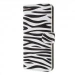 Koženkové pouzdro Huawei Mate 10 Lite - Zebra