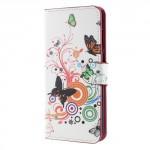 Koženkové pouzdro Huawei Mate 10 Lite - Motýli 01